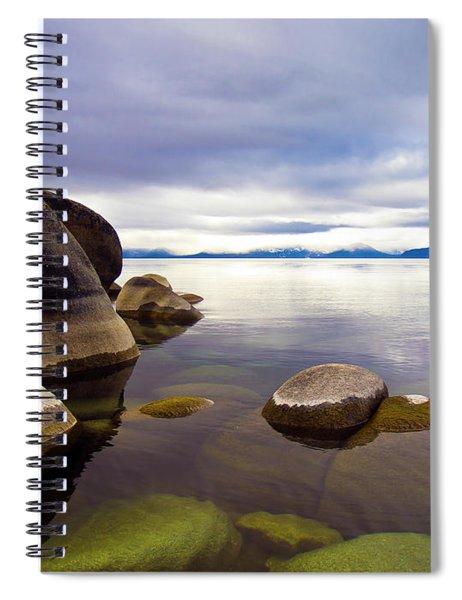 Boulders At Sand Harbor Spiral Notebook