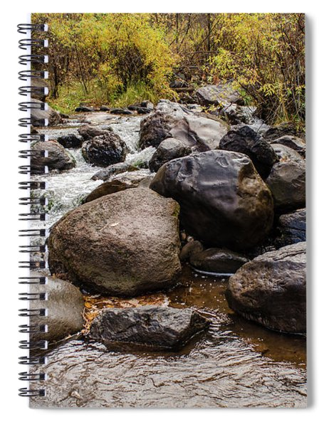Boulders In Creek Spiral Notebook