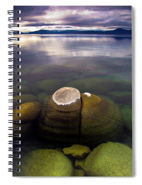 Boulders Underwater At Sand Harbor Spiral Notebook