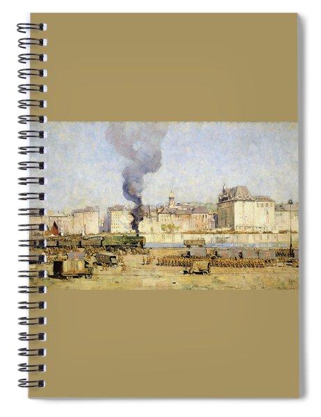 Boulogne - Digital Remastered Edition Spiral Notebook