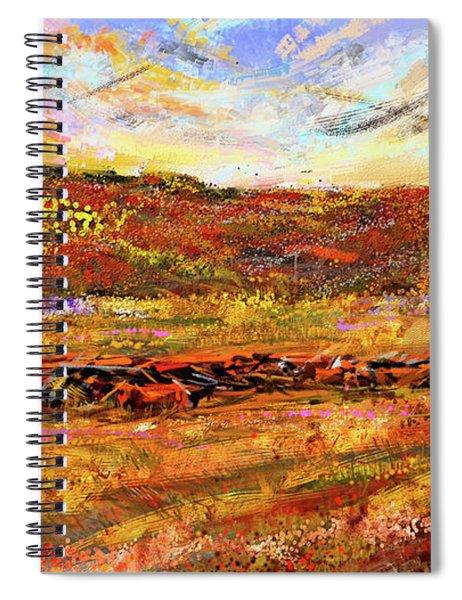 Bountiful Bovine - Everton, Arkansas Spiral Notebook