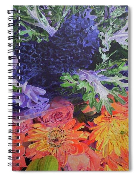 Bouquet 2 Spiral Notebook