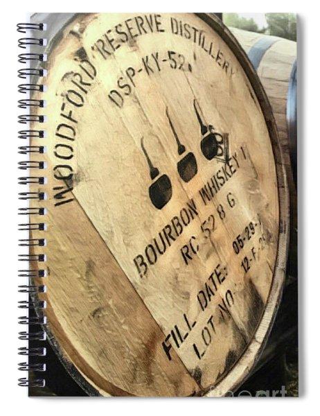 Bourbon Barrel Spiral Notebook