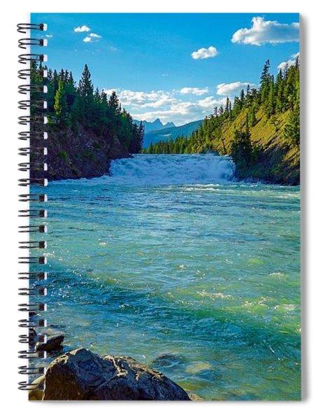 Bow River In Banff Spiral Notebook
