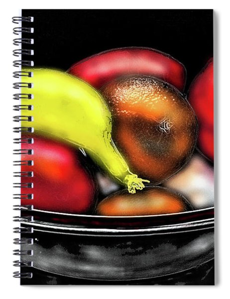 Bowl Of Fruit Spiral Notebook