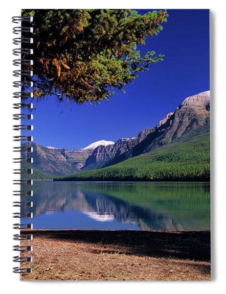 Bowman Lake Spiral Notebook
