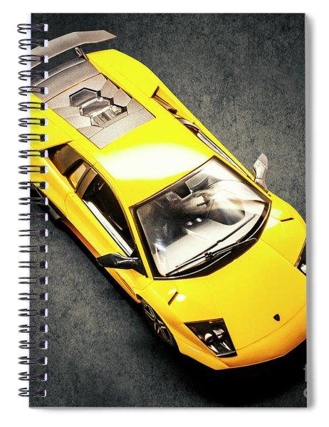 Boys Toys Spiral Notebook