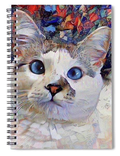 Brady Closeup Spiral Notebook