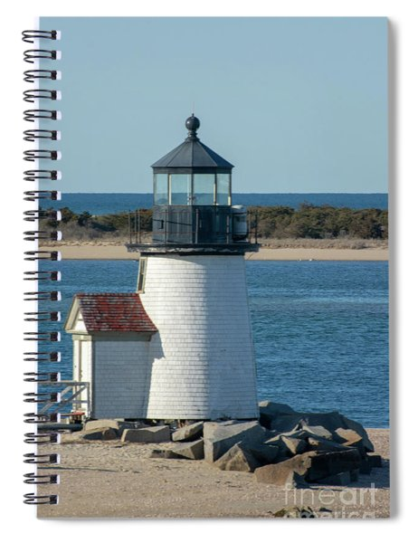 Brant Light House Spiral Notebook