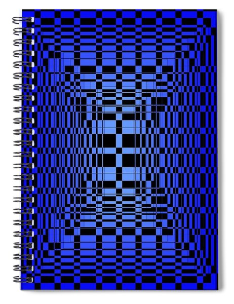 Brave Blue  Spiral Notebook