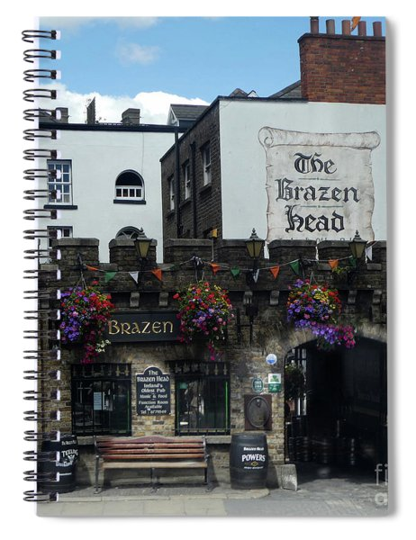 Brazen Head Spiral Notebook