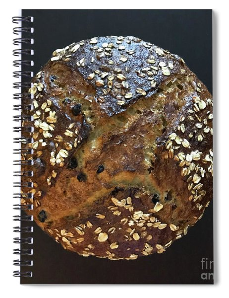 Breakfast Sourdough Spiral Notebook