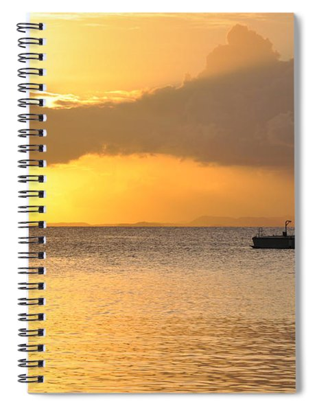 Brewers Bay Sundown Spiral Notebook