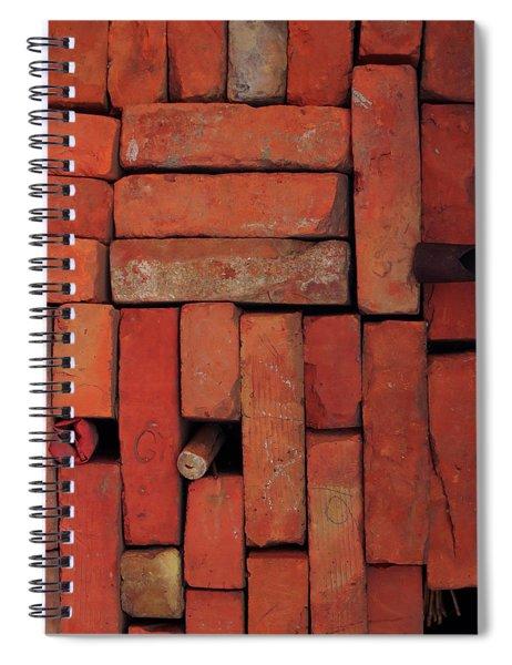 Bricks Spiral Notebook