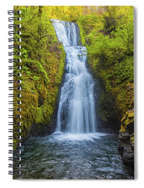 Bridal Veil Spiral Notebook