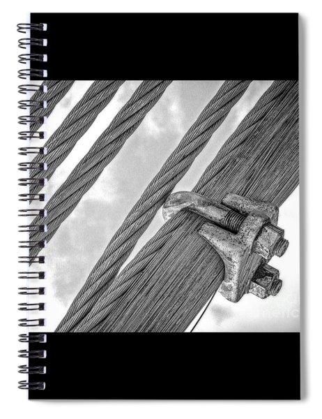 Bridge Cables Spiral Notebook