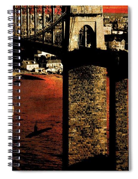 Bridge II Spiral Notebook