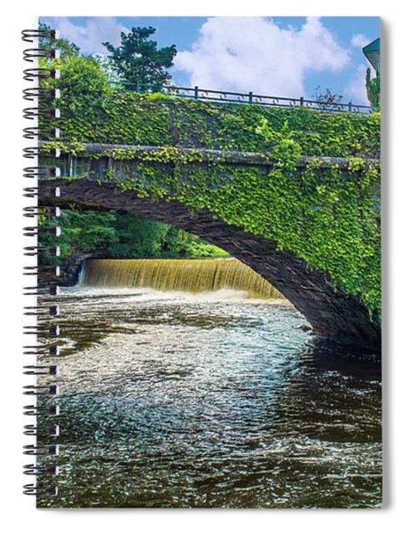 Bridge Of Flowers Spiral Notebook