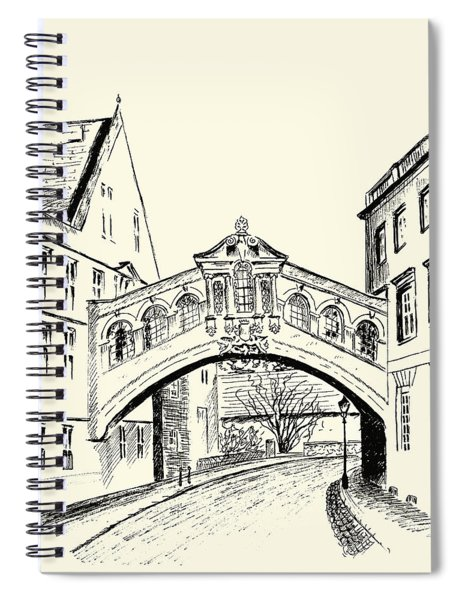 Bridge Of Sighs Spiral Notebook