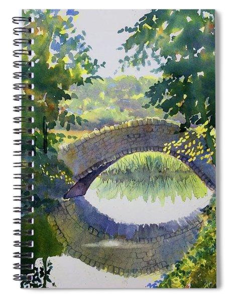 Bridge Over Gypsy Race Spiral Notebook