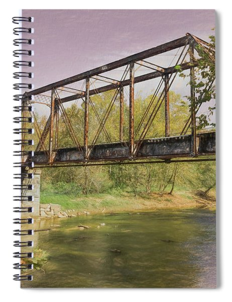 Bridge To Yesterday Spiral Notebook