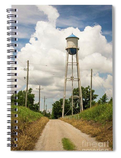 Bridgeport Water Tower  Spiral Notebook