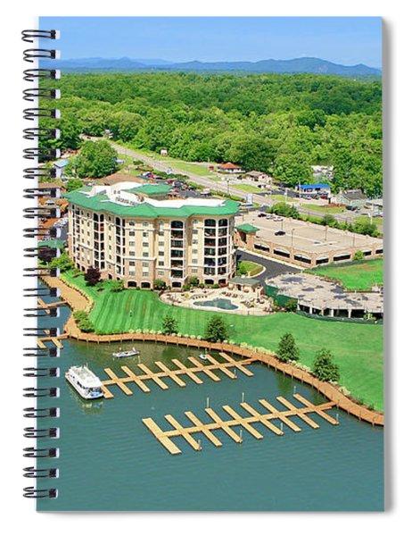 Bridgewater Plaza, Smith Mountain Lake, Va. Spiral Notebook