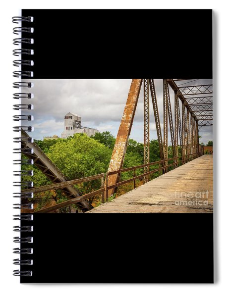 Bridging The Past Spiral Notebook