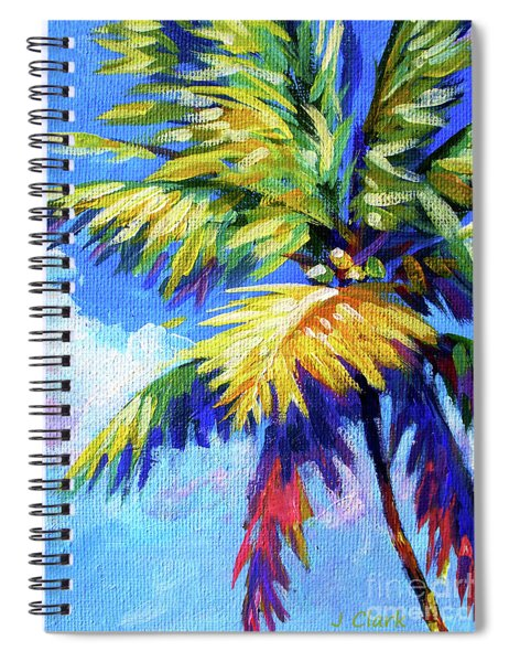 Bright Palm Spiral Notebook