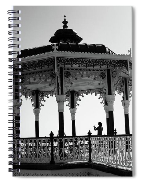 Brighton Bandstand Spiral Notebook