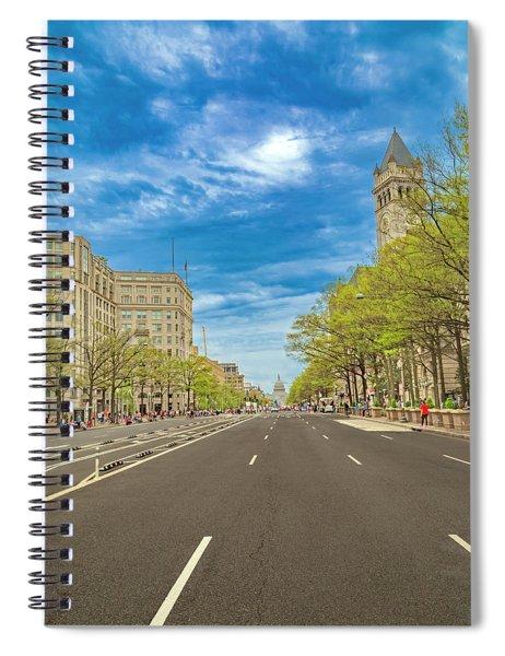 Brilliant Spring Day Washington Dc Spiral Notebook