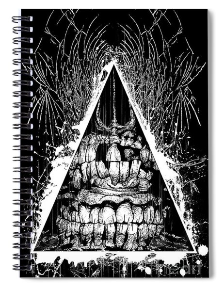 Broken Bite Spiral Notebook