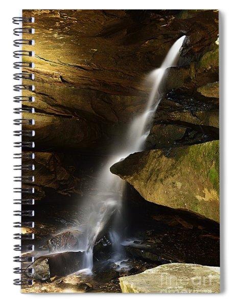 Broken Rock Falls Spiral Notebook
