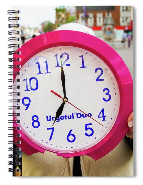 Broken Time Spiral Notebook
