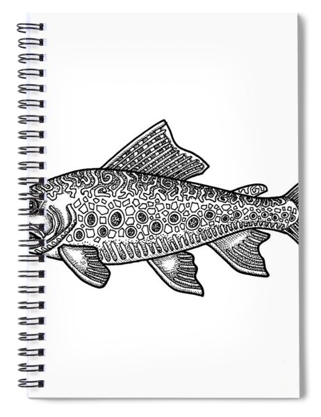 Brook Trout Spiral Notebook