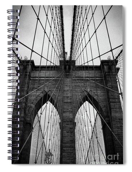 Brooklyn Bridge Wall Art Spiral Notebook