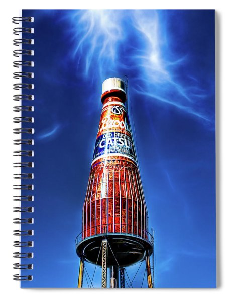 Brooks Catsup Bottle Water Tower Spiral Notebook