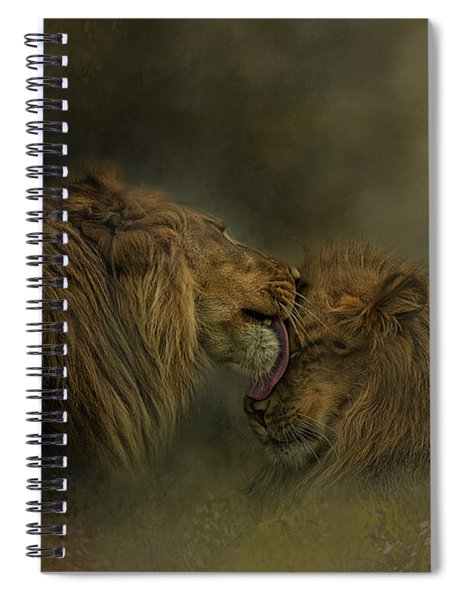 Brotherly Love Spiral Notebook
