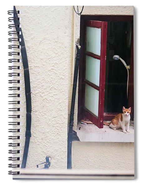 Brown Spiral Notebook