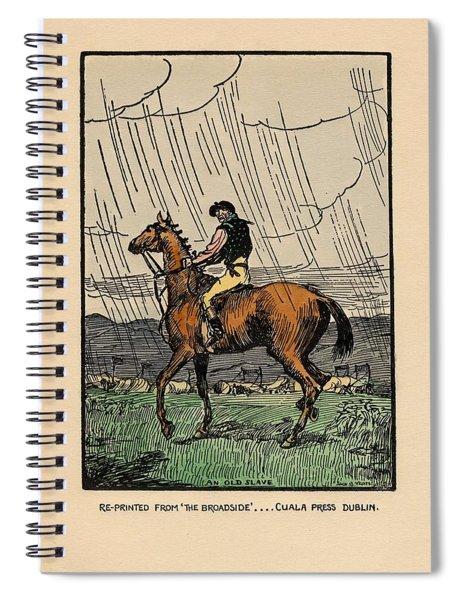 Brown Stallion, Omey Spiral Notebook
