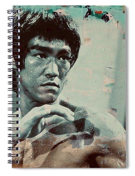Bruce Lee Spiral Notebook