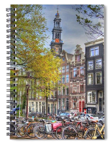 Brussels Belgium Spiral Notebook