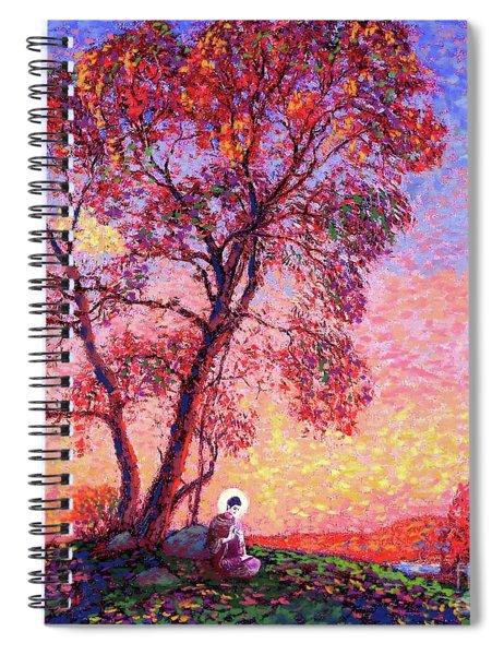 Buddha Blessing Spiral Notebook