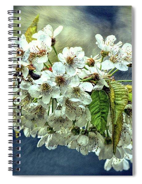 Budding Blossoms Spiral Notebook