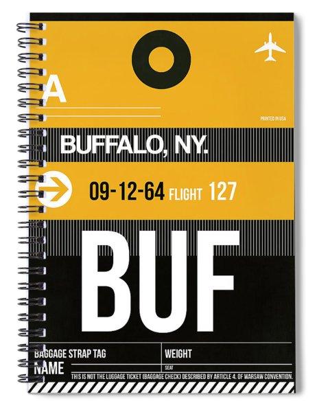 Buf Buffalo Luggage Tag II Spiral Notebook