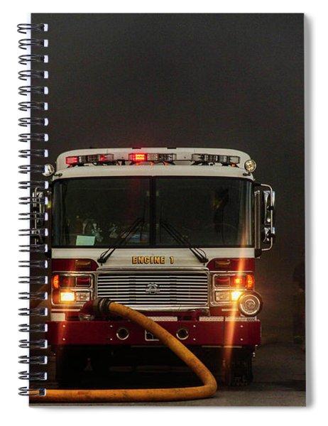 Buffalo Fire Dept Engine 1 Spiral Notebook