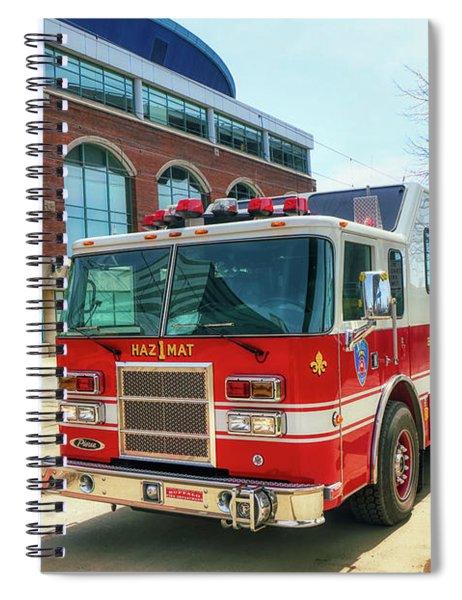 Buffalo Fire Dept Haz1mat Spiral Notebook