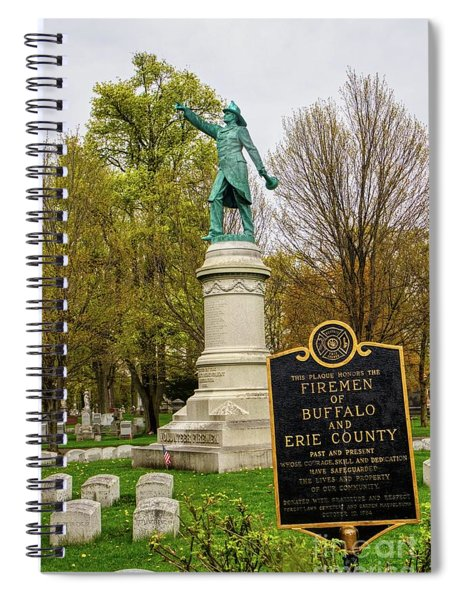 Buffalo Volunteer Fire Department Buffalo Ny Spiral Notebook