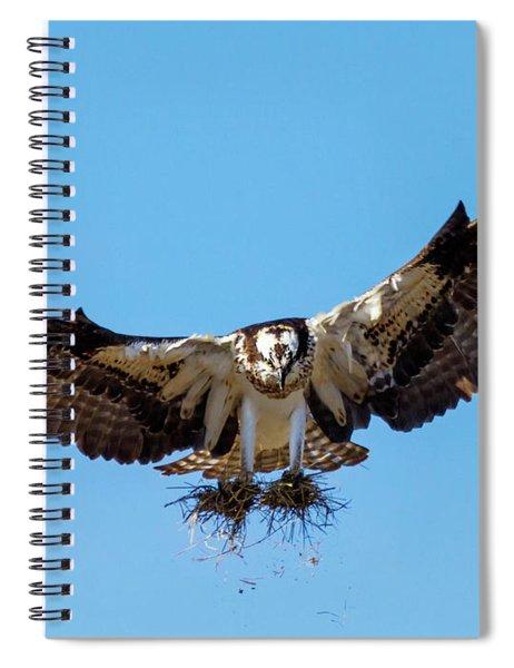 Building A Nest Spiral Notebook