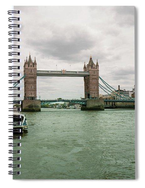 Building Bridges Spiral Notebook